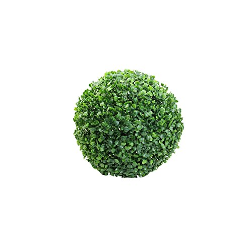 "Delight eShop 1pcs Artificial Boxwood Ball, 4.72""/7.09""/9.84""/11.81"" , Ball-shaped Decoration for Wedding/Indoor/Outdoor (1pcs 4.72"")"