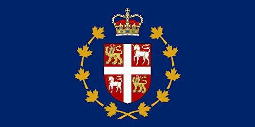 magFlags Large Flag Lieutenant Governor of The Province of Newfoundland and Labrador Canada | Landscape Flag | 1.35m² | 14.5sqft | 80x160cm | 30x60inch - 100% Made in Germany - Long lastin - Newfoundland And Labrador Coat Of Arms