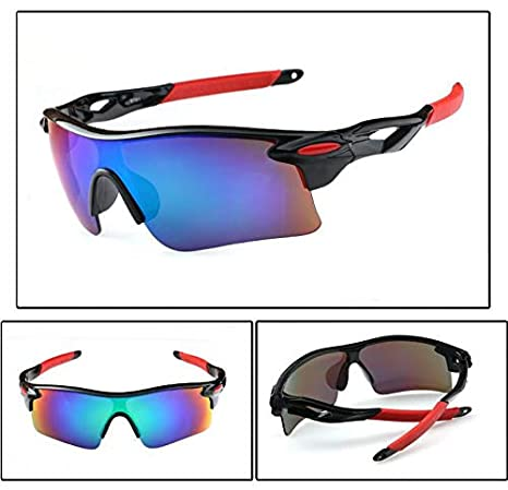 2d1cae603 Sun Cat Eye Sunglasses For Men Metal Reflective Flat Lens Sun Glasses Female  Eyewear: Amazon.ae: Zafulbuy