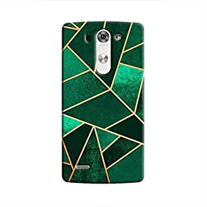 Cover It Up - Green Fractures LG G3 Hard case