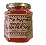 Holiday Jalapeno - Rose City Pepperheads Pepper Jelly, 12 Ounce, With 7 Recipes - Christmas, Hostess, Secret Santa, Birthday, Get Well Gift (Holiday Jalapeno)