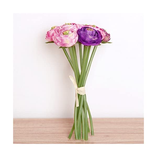 NEAER-Artificial-Roses-Lotus-Flowers-Silk-Plastic-Roses-Bunch-for-Home-Garden-Party-Wedding-Decoration
