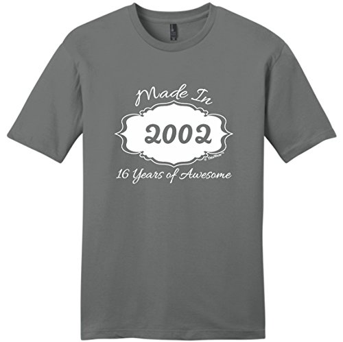 16th Birthday Gifts Made 2000 16 Years of Awesome Young Mens T-Shirt