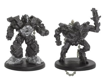 Transformers Revenge of The Fallen Mini Clips - Iron Hide and Starscream