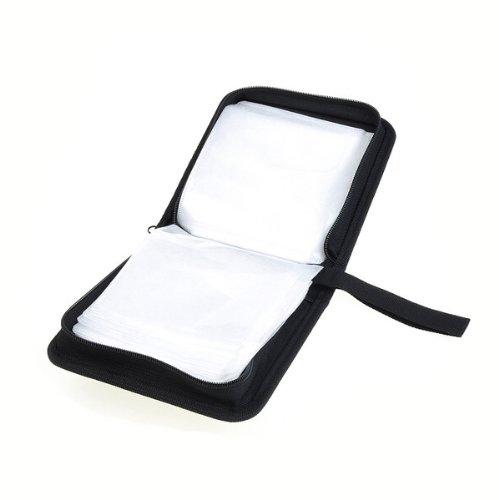 BestDealUSA 40 Disc CD DVD Holder Storage Case Disc Wallet Bag Album Black New