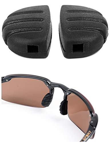 Noa Store Brand New Replacement Nose Pads for Martini and Maui Jim Sport Sunglasses (Small Glasses Noses For)