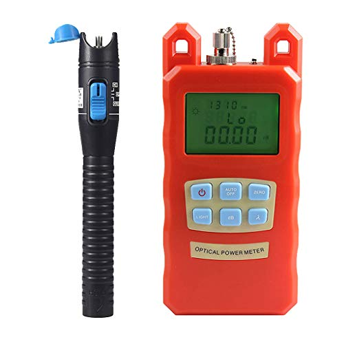 Prettyia Pack Fiber Optic Cable Tester Optical Power Meter with Sc & Fc Connector Fiber Tester +1mW Visual Fault Locator for CATV Test,CCTV Test by Prettyia (Image #10)