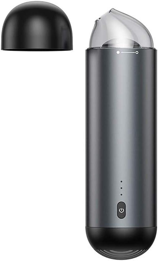 ZUEN Vacuum Cleaner Portable Vacuum Cleaner Wireless Rechargeable Handheld Space Capsule Mini Super Suction Car Dual-Use Dust