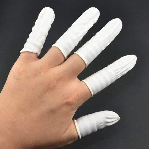 Dcolor100 ps Latex Rubber Finger Cots Finger Protectors Powder by Dcolor (Image #2)