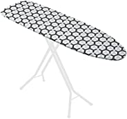 """Hex Deluxe Triple Layer Extra-Thick Ironing Board Cover and Pad, 15"""""""