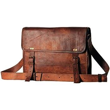 4e3c22b54f on sale Jaald- Stylish Men s Genuine distressed Leather Brown Shoulder  Messenger Passport Bag Murse Sling