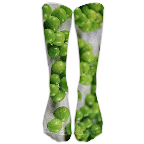 Pea Seeds Closeup Unisex Outdoor Protective Elastic Stocking Crew Long Tube - Close Website