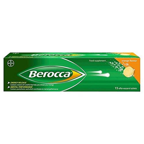 Berocca comprimidos efervescentes Orange 15 por paquete: Amazon.es: Salud y cuidado personal