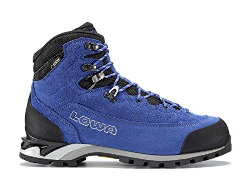 Lowa laurin Pro GTX Mid - Botas de Montaña Para Hombres, Color Azul, Talla 41.5