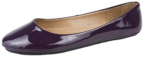 Ballet Purple Dora 8 Womens Size Pumps Lora Ballerinas 3 Flat 8EwOnCx0