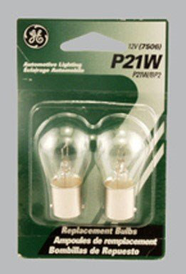 Ge Miniature Lamps Bulb No. P21w/Bp2 12 V 2 / Carded -