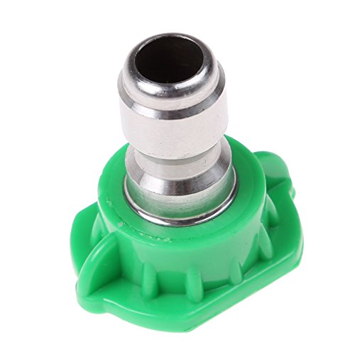 Myhouse Pressure Washer Spray Nozzle Tip 25 Degree Metal Nozzle Tips by Myhouse (Image #1)