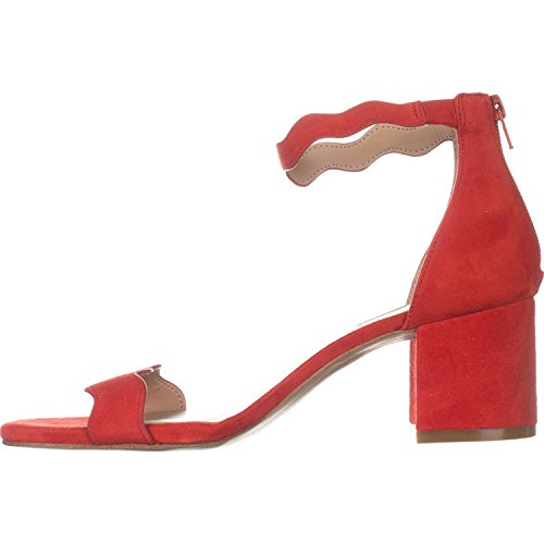 INC International Concepts Womens Hadwin 2 Leather Open, Spring Red, Size 8.5 from INC International Concepts