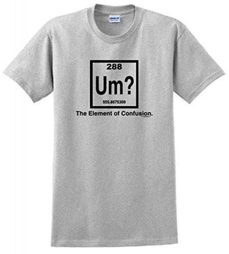 (Um The Element of Confusion T-Shirt Medium Ash )
