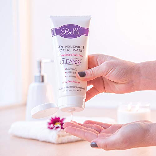 Belli Anti-Blemish Facial Wash – Cleanse Acne-Prone Skin – OB/GYN and Dermatologist Recommended – 6.5 oz. 4