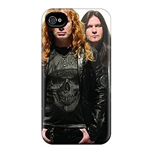 Iphone 4/4s AZG14820fvlV Allow Personal Design Attractive Megadeth Band Skin Protective Cell-phone Hard Covers -JasonPelletier