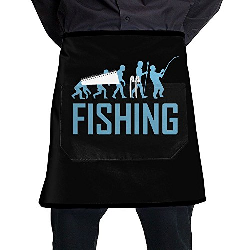 Mens And Womens Evolution Fishing Adjustable Neck Bib Aprons With Front Pocket