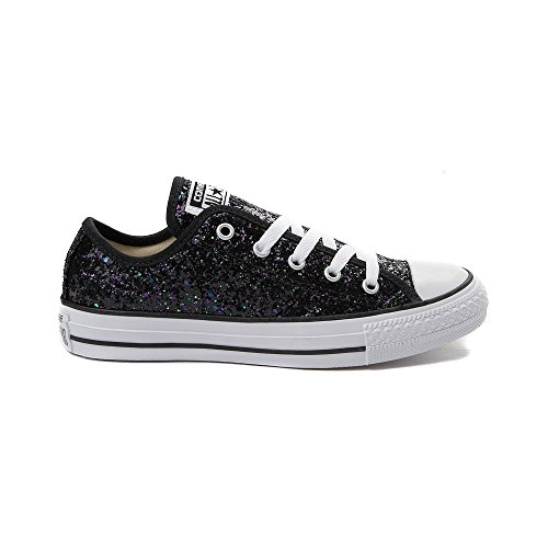 Sneakers Taylor Ox 9532 Low Glitter Shoes Canvas Chuck Black Women's Converse Made qIStYY