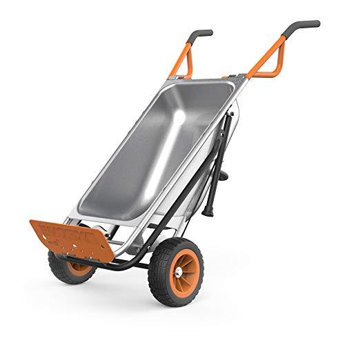 Worx WG050 Aerocart 8-in-1 Yard Cart / Wheelbarrow / Dolly