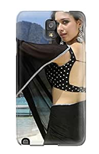 New Style Case Cover Tamanna Black Saree Compatible With Galaxy Note 3 Protection Case 2655137K41315871