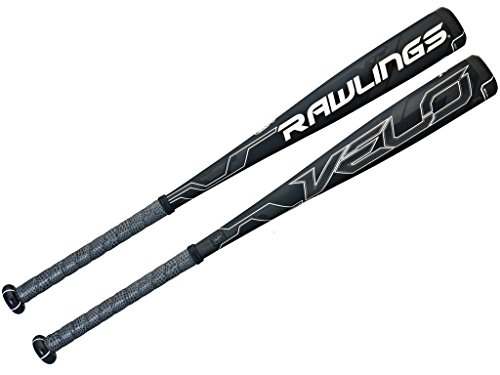 Rawlings Men's Senior League Velo Baseball Bat, Black, 31-Inch/21-Ounce ()