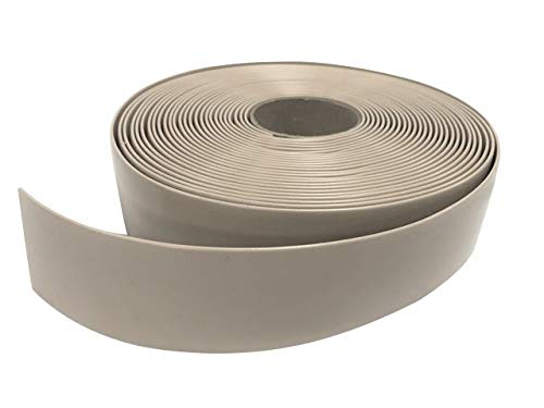 2″ Wide x 200′ Roll Vinyl Strap for Patio Pool Lawn Garden Furniture- Make Your Own Replacement Straps. (219 Gray)