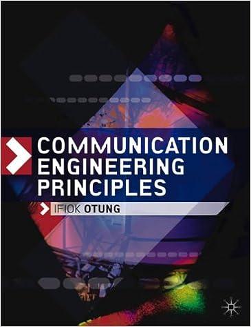 Communication Engineering Principles Amazon Dr Ifiok Otung