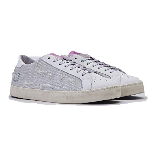 Collezione Estate Donna t Colore a Primavera W Vintage Nuova Low Bianco D Sneakers luminar e 2018 Scratch Hill Argegno wTZ7II5qxn