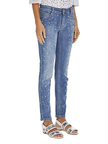 331 Strass 5547 E Tg Jeans Blugirl 44 Perle RqwXxFyA