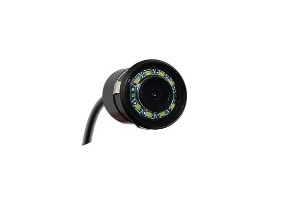 LW CCD Color Imagen Sensor Vista Lateral Cámara Copia De Seguridad Cámara Inversa Visión Nocturna Impermeable Coche Vista Trasera Cámara: Amazon.es: ...