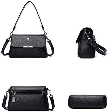 KLJDC Taschen Handtaschen Schultertaschen Weibliche Umhängetasche Umhängetaschen für Frauen Leder Schultertasche Handtaschen Frauen Taschen