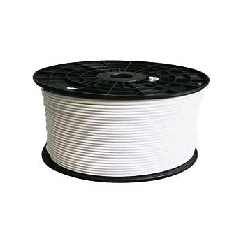 100 m bobina RG6 cable coaxial 120 db HDTV Compatible con diseño de metros