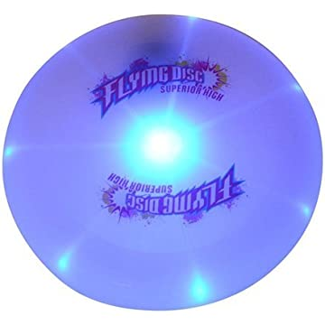 best Amjaxan Flying Disc CFTech Ultimate Frisbee LED Light Up Sport Disc reviews