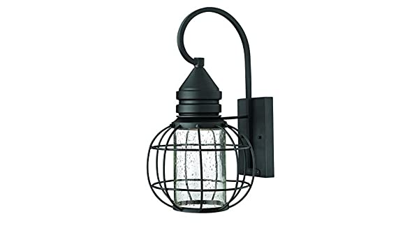 Amazon.com: Hinkley 2254BK Outdoor New Castle Light by Hinkley: Home & Kitchen
