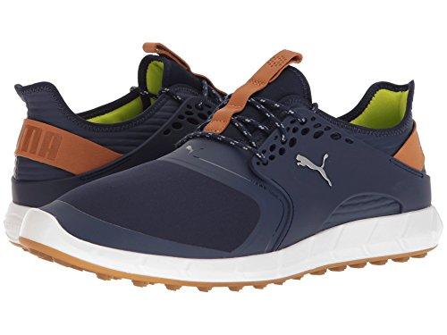 [PUMA(プーマ)] メンズランニングシューズ?スニーカー?靴 Ignite Power Sport Peacoat/Puma Silver 9 (27cm) D - Medium