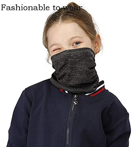 8 Pack Kids Neck Gaiter Bandana Face Cover S782910922893 carf Anti Dust Balaclava for Hot Summer Cycling Hiking Sport Outdoor