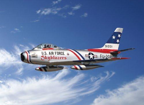 """F-86F Sabre /""""Skyblazers/"""" ITALERI 2684S 1:48 Plastic kit New"""