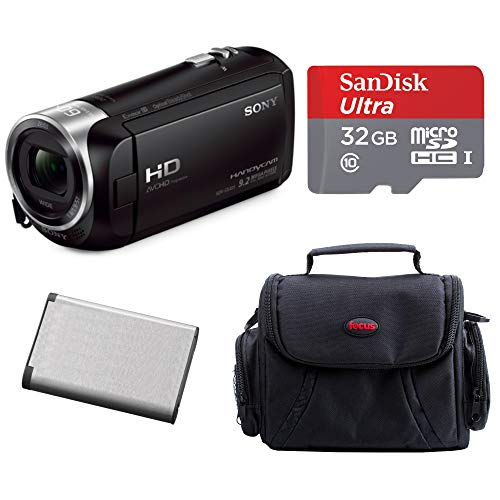 (Sony HD Handycam Camcorder (Black) with Sony 32GB Accessory Bundle)