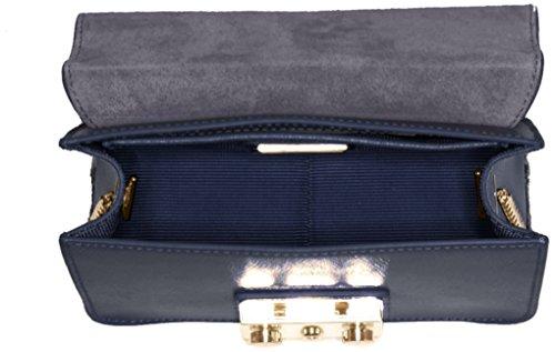 Blue B bandoulière Metropolis Furla Crossbody Navy Sacs Mini XS8vwq1p