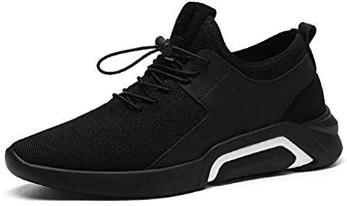 2ROW Men's Speed Laces Black Sports Running Shoes