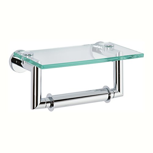 Ginger 4627/PC Kubic Double-Post Toilet Paper Holder, Polished Chrome ()