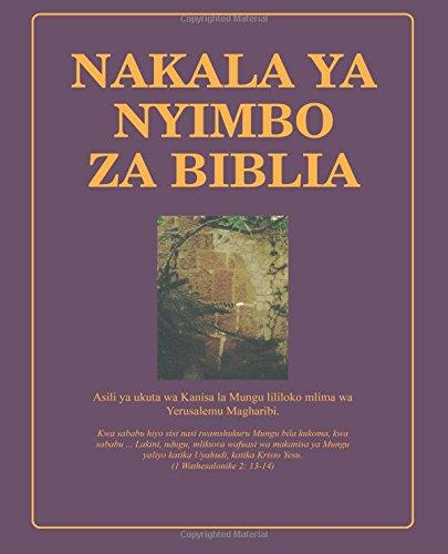 Nakala Ya Nyimbo Za Biblia Bible Hymnal In Kiswahili Continuing Church Of God Bible Hymnal In Kiswahili Swahili Edition Armstrong Dwight 9781940482514 Amazon Com Books