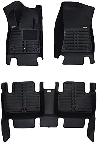 TuxMat Custom Car Floor Mats for Infiniti QX50 2019-2022 Model– Laser Measured, Largest Coverage, Waterproof, All Weather. The BestInfiniti QX50 Accessory (Full Set – Black)