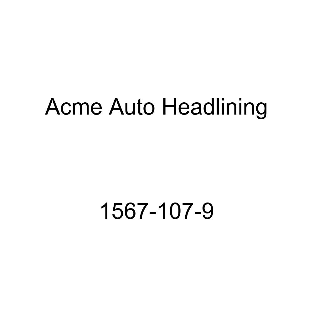 Acme Auto Headlining 1567-107-9 Dark Brown Replacement Headliner 1957 Pontiac Chieftain, Star Chief, Super Chief 2 /& 4 Dr Sedan, 7 Bow