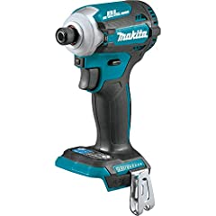 Makita has a legacy of innovation in the cordless impact driver category, and the 18V LXT Brushless 4-speed impact driver (XDT16Z) sets new standards. The XDT16Z offers users four speeds, As well as Makita's exclusive Quick-Shift mode for inc...